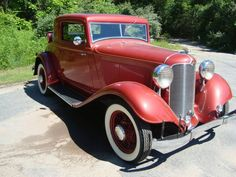1932 DeSoto 3 Window Rumble Seat Coupe