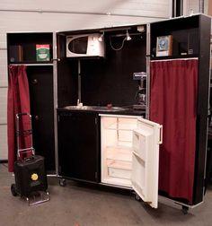 Flightcase kitchen