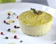 Flan de haricots verts et parmesan