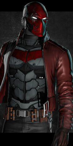 Red Hood Dc, Batman Red Hood, Red Hood Wallpaper, Batman Wallpaper, Batman Poster, Batman Comic Art, Injustice 2 Red Hood, Hood Wallpapers, Red Hood Jason Todd