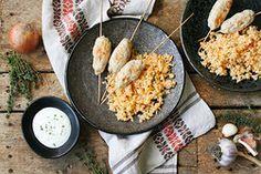 Ilustrační foto ke článku Zdravý a jednoduchý oběd po orientálsku: Krůtí kebab s pilafem