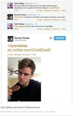 Connor Franta and Tyler Oakley #Cyler