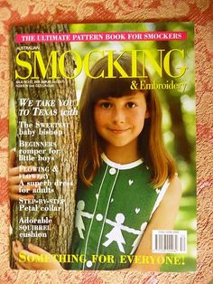 Australian Smocking & Embroidery ~ Issue No 52 - 2000 - Country Bumpkin