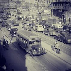 Sao Paulo in the 50's, Bras Area  Brazil