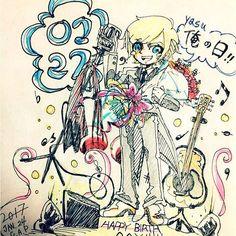 【abc.y.h】さんのInstagramの写真をピンしています。《いえーいyasuのお誕生日ー🦄💘🎁 どんどん若返ってくーyasuー素敵 はやくLIVEにいきたいなあ生yasuみたいなあ 生声聴きたいなあ あーおなじ林で幸せありがとうぱぴーまみー←  #yasu#誕生日#illust#ボールペン#ABC#teamABC #0127#おめでたい#韓国#日本#ハーフ#Kra#jpn #林#half#ほぼほぼ日本#もはや日本#血は韓国 #ややこしや#林保徳#大好き#しぬ#❤️》