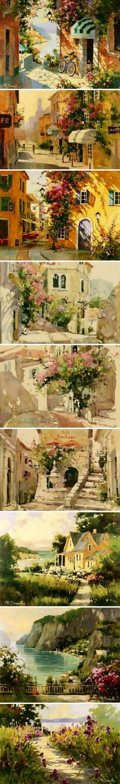 Marilyn Simandle a selection of work. It was a privilege to sell her welcoming images. CH