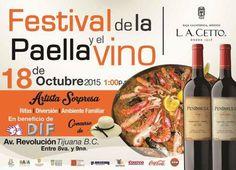 Ya viene el Festival de la Paella en Tijuana   Eres fan de este platillo tradicional español?  info http://tjev.mx/1JQ3Vm5 #Gastronomia más info en http://tjev.mx/9jUxqh