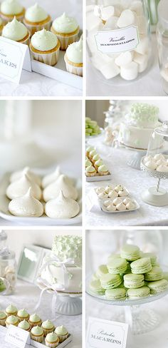 Mint for a bridal shower