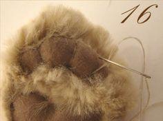 """Продюсерский центр Хобби-класс. Изготовление кукол, мишек Тедди, подарков. Авторские куклы: Контент / Мастер-классы для """"теддистов"""" / Пяточки для мишки"""
