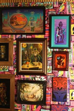 Tiki Art Display
