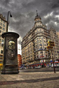 Plaza de España, Madrid, Spain by Alena Romanenko
