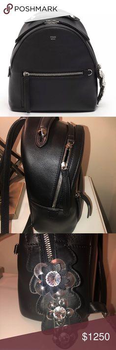 494e72b3c83d Fendi backpack. FENDI BACKPACK Beautiful black leather mini ...