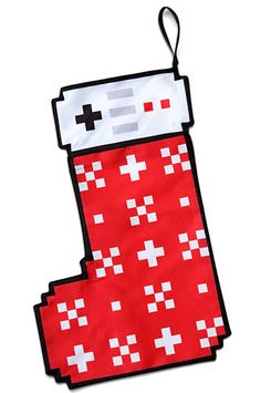 8-bit Christmas Stocking on Global Geek News.