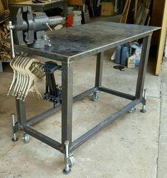 Welding Bench, Welding Table Diy, Welding Tools, Metal Welding, Welding Projects, Welding Ideas, Welding Cart Plans, Welding Crafts, Welding Helmet
