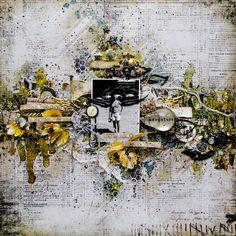 Be free by Anastasi Kuznetsova Mixed Media Scrapbooking, Scrapbooking Layouts, Scrapbook Pages, Layout Inspiration, Paper Crafts, Writer's Block, Art Journaling, Creative, Cards