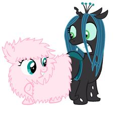 Fluffle Puff and Queen Chrysalis Butt Buddies by on DeviantArt Mlp, Fluttershy, Fluffy Puff, Queen Chrysalis, Baby Pony, Little Sisters, New Art, Minnie Mouse, Disney Characters