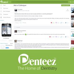 Everyone has questions that they would like advice about. Sometimes, we just want to hear the varied opinions of others on a subject matter that isn't clear-cut. Try the Ask A Colleague feature on Denteez, this is where you can ask your colleagues the questions you want answers to - www.denteez.com #Dentistry #DentalQuestions #Dental #DentalServices