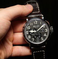 Zenith Pilot Montre d'Aéronef Type 20 Annual Calendar Watch Hands-On