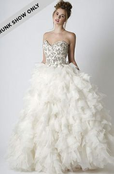 Sareh Nouri - Sweetheart Ball Gown in Silk Organza