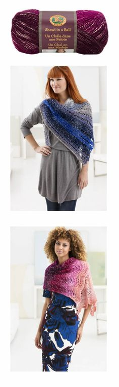 New to Knitting-Warehouse is Lion Brand Shawl In A Ball Yarn, https://www.knitting-warehouse.com/collections/lion-brand-shawl-in-a-ball-yarn Diagonal Eyelets Shawl, https://www.knitting-warehouse.com/collections/search-all-free-patterns/products/diagonal-eyelets-shawl, Feather and Fan Shawl, https://www.knitting-warehouse.com/collections/lion-brand-free-patterns/products/feather-and-fan-shawl.