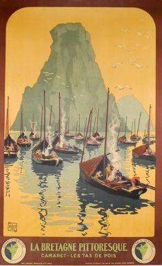 Camaret - La Bretagne by Charles Allo (1930)
