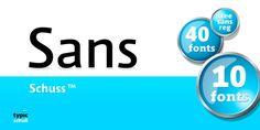 Schuss Sans PCG™ font download