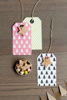Totally cute gift tags!