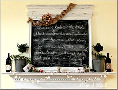 The Notebook Inspired Valentine's Mantel - Mom 4 Real