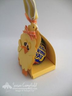 VIDEO Easter baby chick with Cadbury Cream Egg Treat Holder