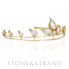 Regency Tiara by Ray Griffiths, available exclusively at www.stoneandstrand.com ~ $24,145