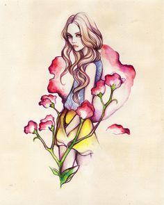 Birth Flower Ladies - Soleil Ignacio Illustrations