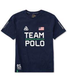 Ralph Lauren Polo Sport Graphic-Print T-Shirt, Toddler & Little Boys (2T-7) - African Red 3/3T