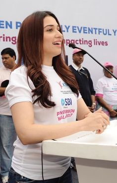 Tamannaah at Pink Ribbon walk