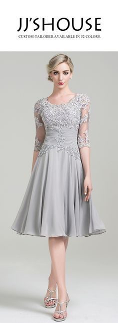 Short and chic. This dress is a perfect choice for any mother of the bride/groom. #motherofthebridedress