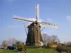 Netherland オランダ Le Moulin, Windmills, Utility Pole, Holland, Dutch, Bucket, Travel, Windmill, The Nederlands