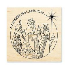 Stampendous Wood  Stamp Seashell Jar