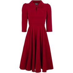 Glamourous Velvet Tea Dreams Dress - Keskipitkä mekko - H&R London