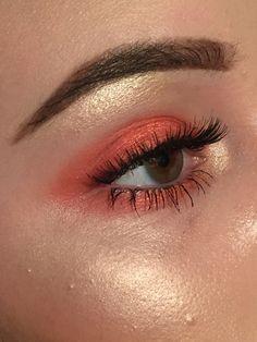 eyebrows, eyes, and eyeshadow