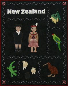Postcards from...New Zealand Quilt