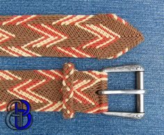 Ply-Split Braiding is a technique more commonly associated with Camel Girth Makers from India. This is a technique, where by one cords ply'...