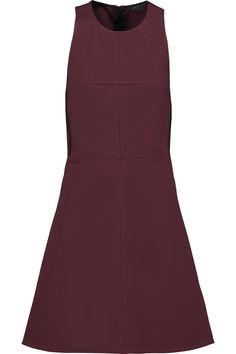 Rag & Bone Woman Sharon Silk Satin-trimmed Stretch-knit Mini Dress Black Size 2 Rag & Bone 4oMu4TTpLe