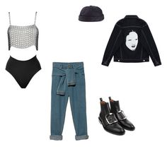 """Untitled #22"" by badnewsofficial ❤ liked on Polyvore featuring Givenchy, Chicnova Fashion, SPANX, Béton Ciré and DKNY"