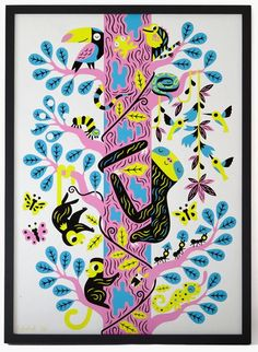 """Sloth"" Art Print by Till Hafenbrak"