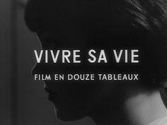 Vivre sa vie, Jean Luc Godard 1962