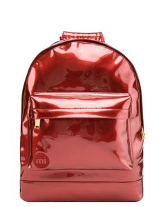 Mi-Pac Gold Backpack - Patent Red