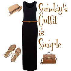 Sundays Outfit is Simple