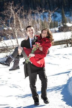 Colorado Winter Elopement In Grand Lake