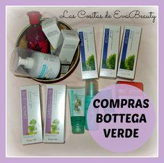 Hola amores!!!! Os enseño mis últimas compras en Bottega Verde, con un descuento de 25 € que aproveché muy bien :) Besotes!!! #lascositasdeevabeauty #compras #haul #belleza #beauty #BottegaVerde #blogger #beautyblogger #beautyblog #bloggerespaña #corporal #body #anticelulitico #facial #exfoliante #reafirmante #pecho