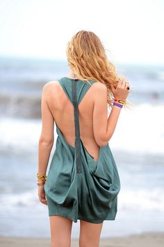 Backless.. IN!