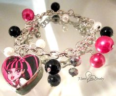 Hey, I found this really awesome Etsy listing at https://www.etsy.com/listing/180607668/bracelet-monster-high-monster-high